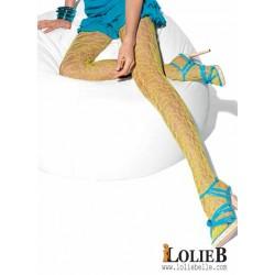 LE BOURGET Oh Mademoiselle Collant résille fantaisie FUSION