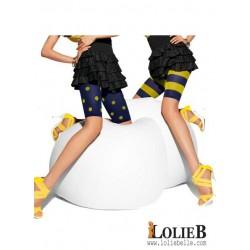LE BOURGET Oh Mademoiselle Lot de 2 shorts cyclistes fantaisie HIP HOP