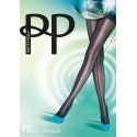 Collant Résille Panelled Mesh frontseam PRETTY POLLY