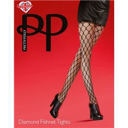 PRETTY POLLY Collant Double Net Tights